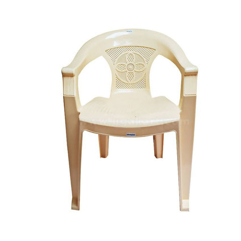 Light Brown - Plastic Chair