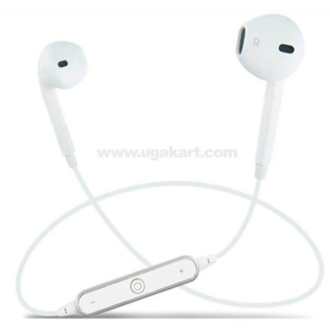 White Wilreless Headset