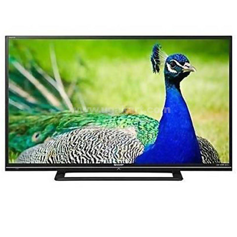 Sharp 46 Inch Full HD Ultra Slim LED TV - LC46LE450 _Black