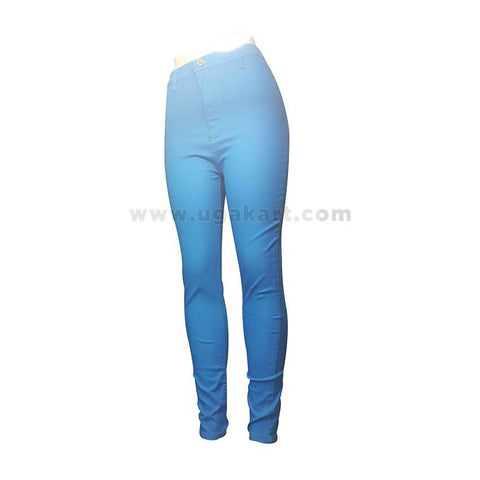 Blue Ladies Pant