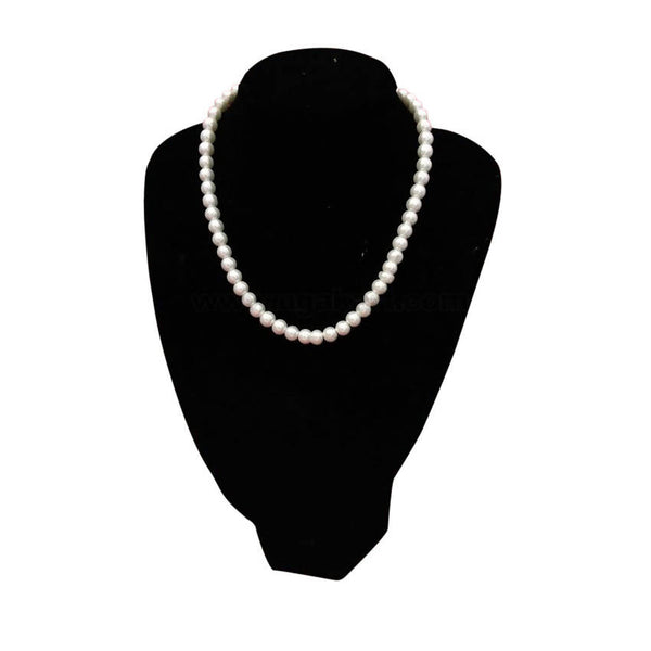 Pearl White Small Ball Necklace