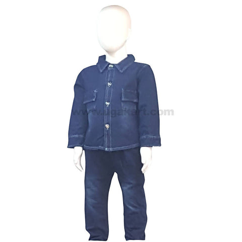 Blue Color Dress For Boys Kids 1 to 3 yr