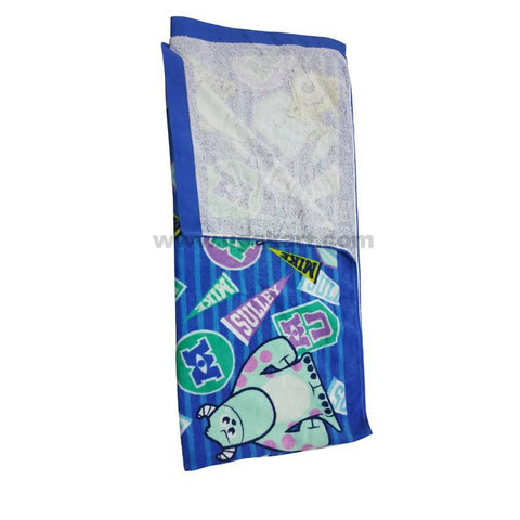 Blue Printed Beach Towel