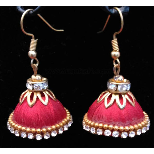 Red Thread Golden Earrings