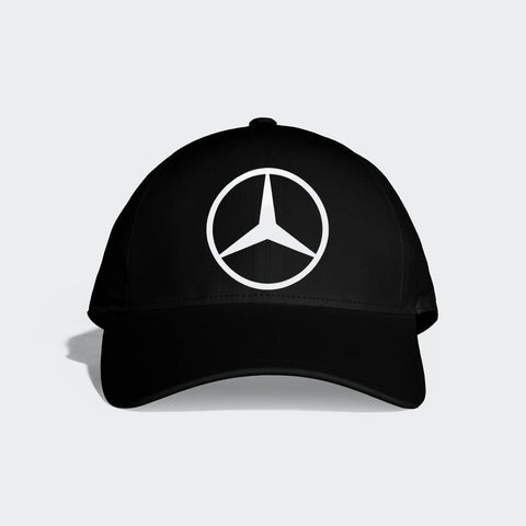 Black Cap with Benz Logo