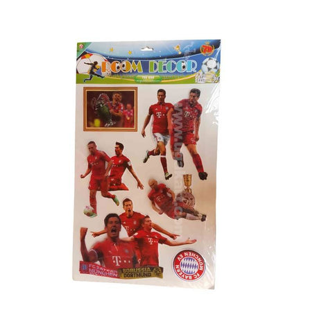 Room Decor Football Players Wall Stickers