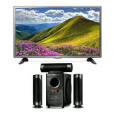 Djack-903 Subwoofer System and LG 32 Inch HD LED TV Combo