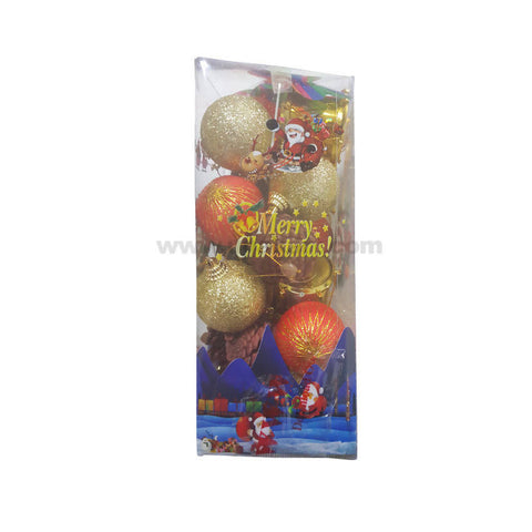Decorations Balls-Red & Golden-20Pc