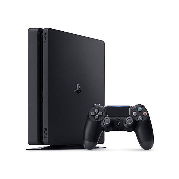 PS4 Slim 500GB Console - Jet Black