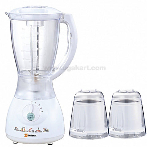 Sayona SJ-Y44B 3 in 1 Blender with Grating Machine