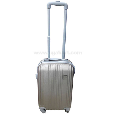 Grey Hardside Spinner Luggage Suitcase (Small)