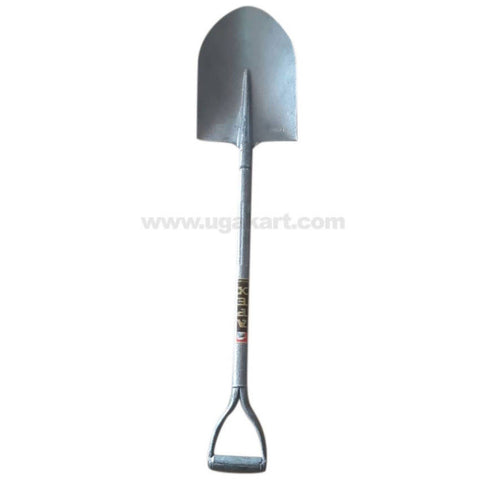 Steel Spade with Round Base