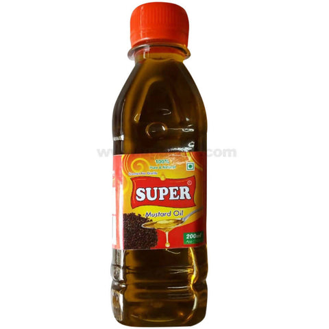 Super Mustard Oil 200ml