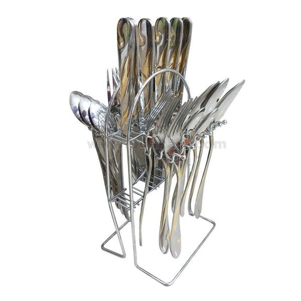 Fork,Spoons & Butter Knief Set-24pcs
