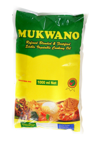 MUKWANO Vegetale cooking oil 1L