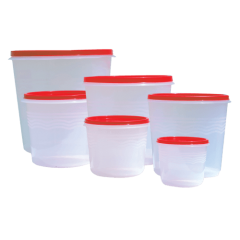 MUKWANO PLASTIC KITCHEN CONTAINER SET