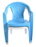 CHAIR LOW BACK ROYALE - LIGHT BLUE