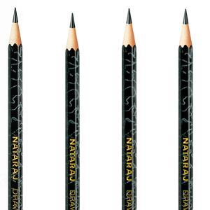 Nataraj Drawing pencils H4