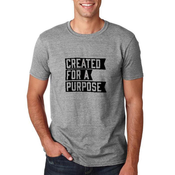 created for a purpose- grey