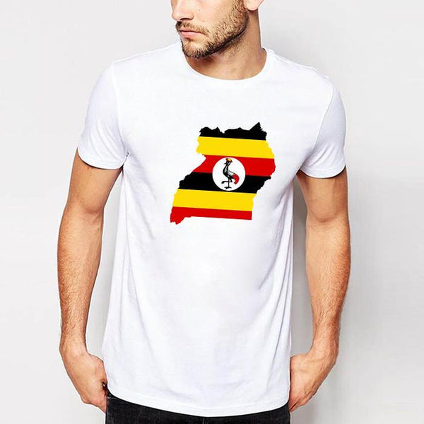 Bird with Flag Men's t-Shirt White