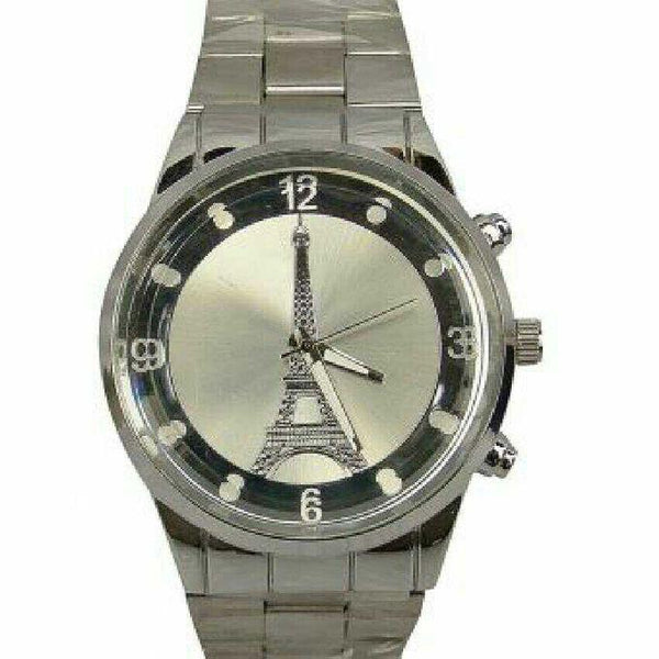 MEN'S DESIGNER SILVER WATCH