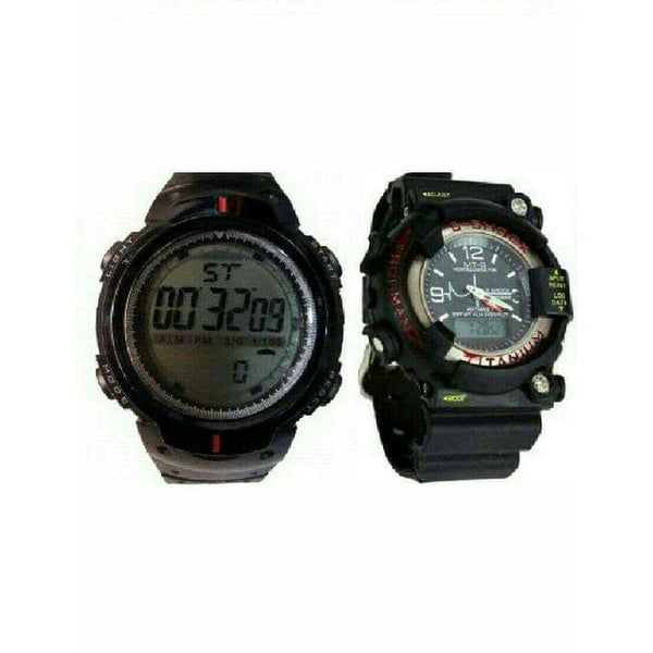 PAIR OF DIGITAL WATCHES