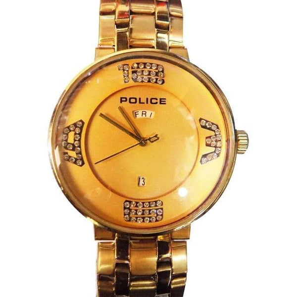 POLICE MEN'S WATCHES - GOLD