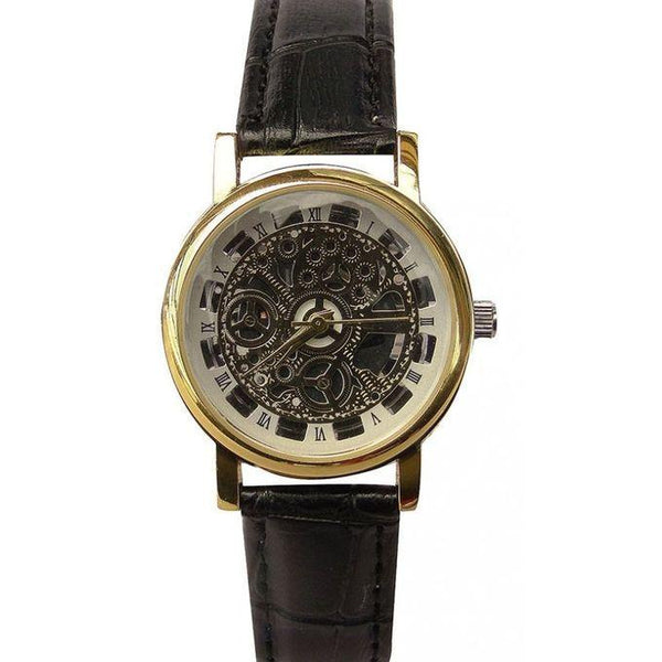 WOMEN'S WATCH - BLACK, GOLD