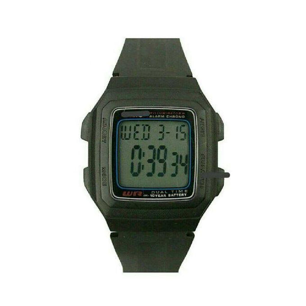 FORMAL DIGITAL WATCH PLASTIC BLACK