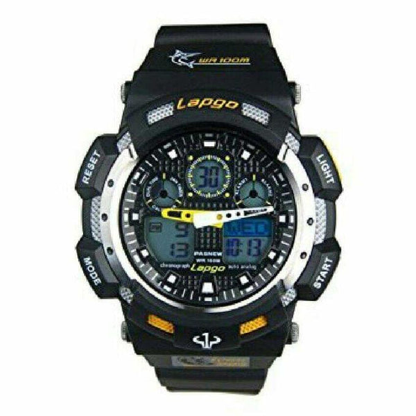 MEN'S DUAL SPORTS WATCH - BLACK