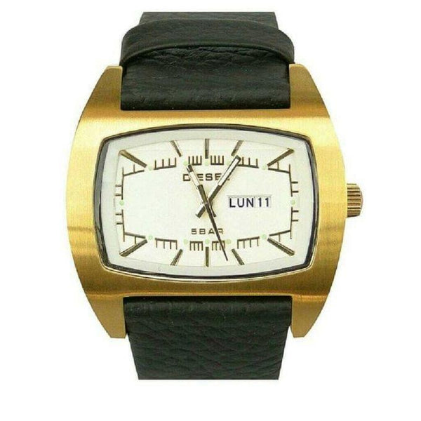 MEN'S FORMAL LEATHER STRAPPED WATCH - GOLD