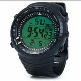 MEN'S DIGITAL WATCH - BLACK