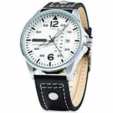 MEN'S FORMAL DESIGNER WATCH SILVER