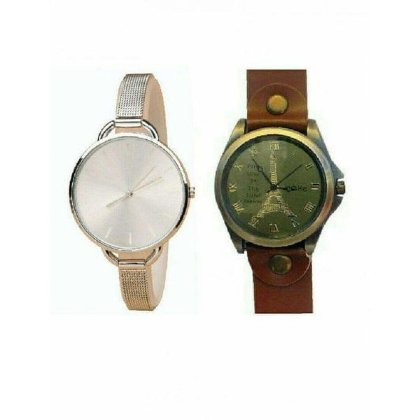 Bundle Of (His and Her's) Watches - Gold, Brown