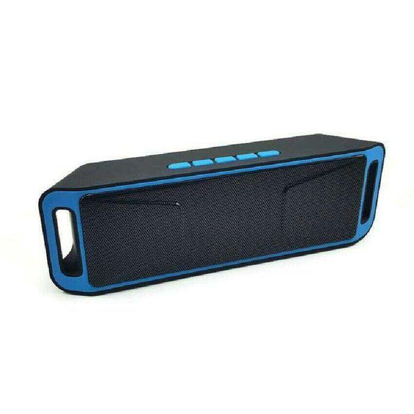 Bluetooth Speaker - Blue Black1