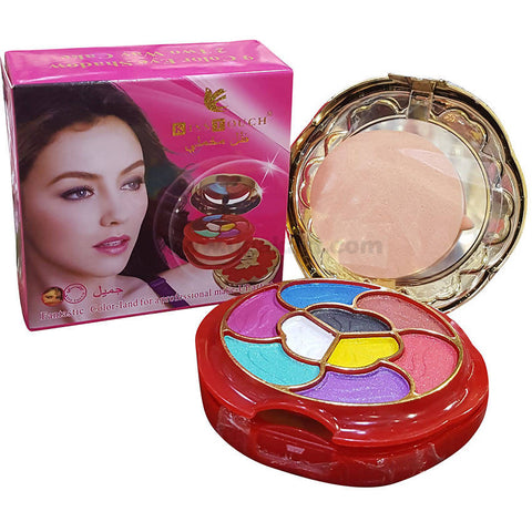 Kiss Touch 9 Color Eyeshadow