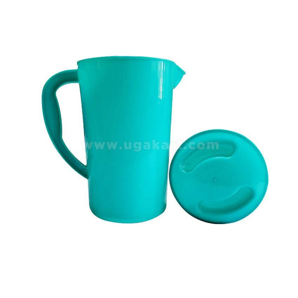 2 Pcs Plastic Jug - Light Blue
