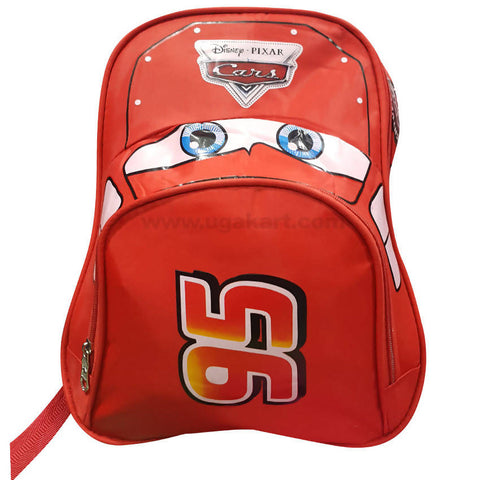 Red Disney Pixar Cars 95 Kid's School Bag