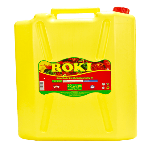 ROKI Vegetable Cooking Oil - 20 Ltr