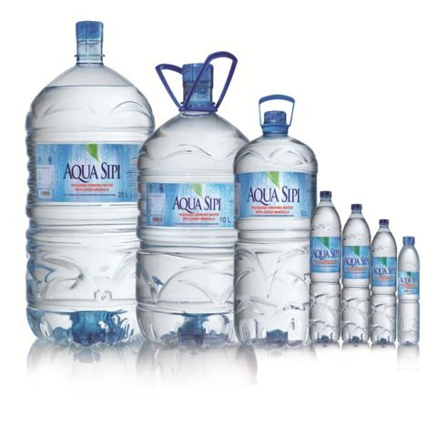 AQUA Sipi Drinking Water-10 L With Added Minerals