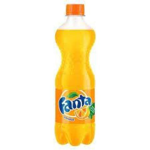 PET FANTA ORANGE SODA 500ML