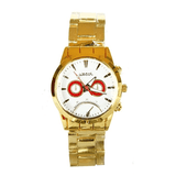 DIGITAL & ANALOG CHAIN STRAP WOMEN'S WATCH - GOLD