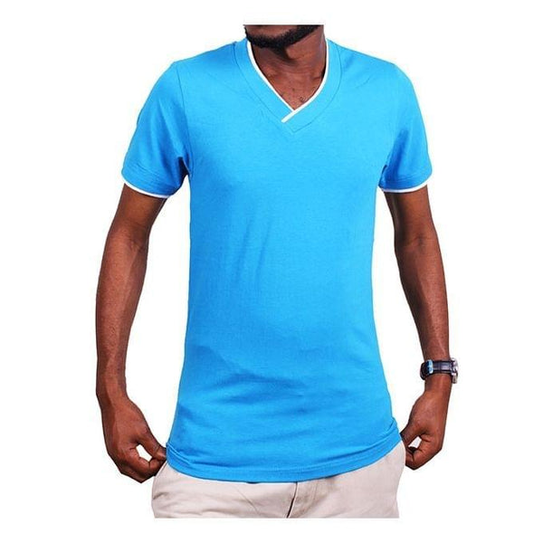 Men's Casual T-Shirt - Blue