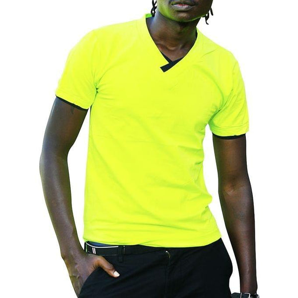 Men's Casual T-Shirt - Lemon Green