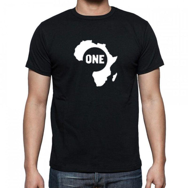 black tshirt African one