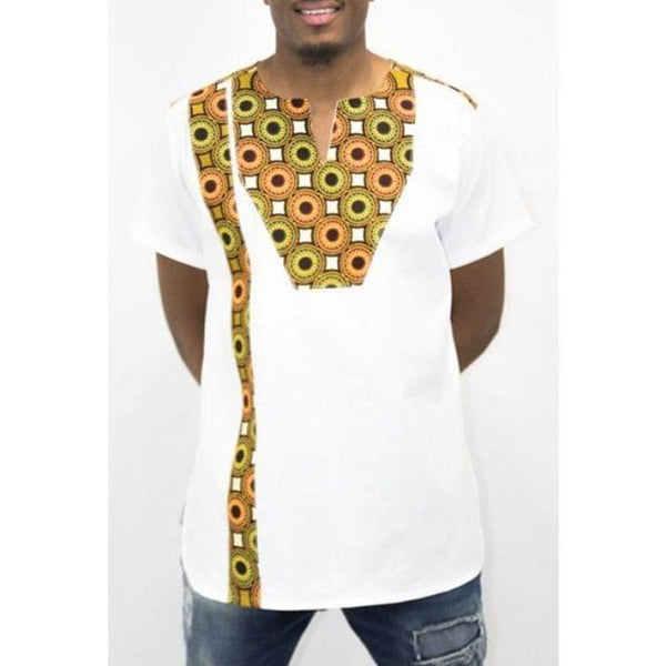 Men's Kitengi Shirt - White