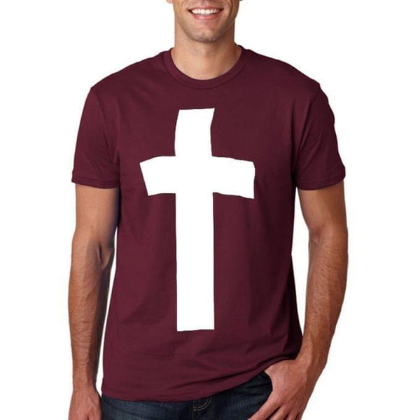 Holy Cross Men's T-Shirt - Maroon