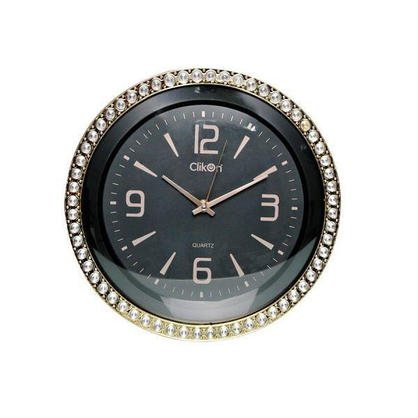 CK 1111 WALL CLOCK ROUND SHAPE WITH BLACK COLOR