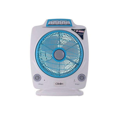 CK 2195 RECHARGEABLE FAN 12•À_ with LED Light