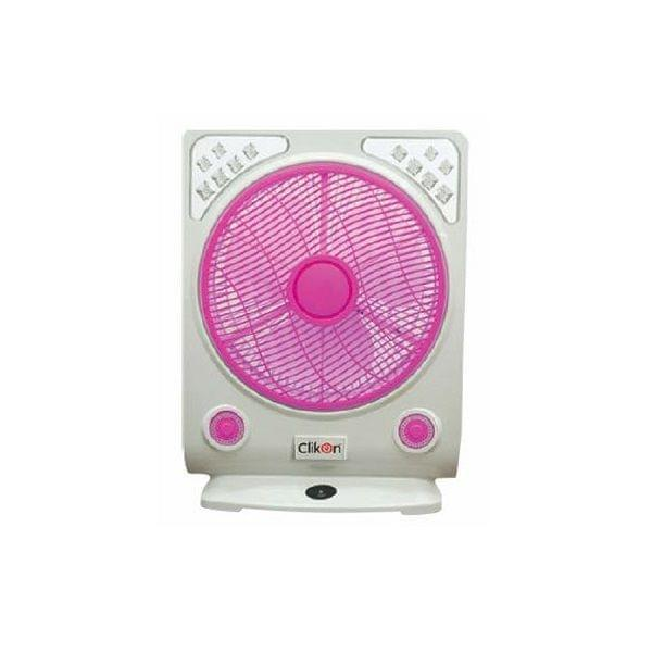"CK 2800 14"" RECHARGEABLE BOX FAN, 45W"